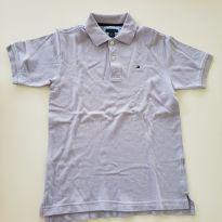 Camiseta lilás - 8 anos - Tommy Hilfiger