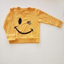 Moletom sorriso - 4 anos - Tyrol