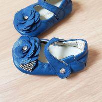 Sapatilha flor azul - 17 - Mielino