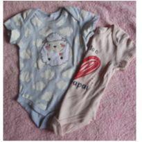 Kit body Ovelha e Papai Baby club - 9 a 12 meses - Baby Club