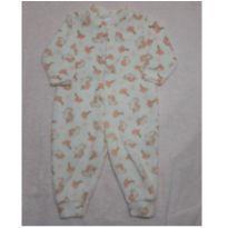 Macacão Pijama Unicornio - 6 a 9 meses - Não informada