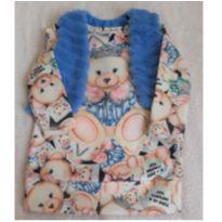 Vestido Urso com Colete Infanti - 1 ano - Infanti