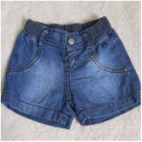 Shorts Jeans Hering - 1 ano - Hering Kids