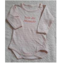 Body Sou da Mamae - Recém Nascido - Não informada