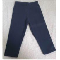 Calça Forrada Azul Marinho - 6 a 9 meses - Não informada
