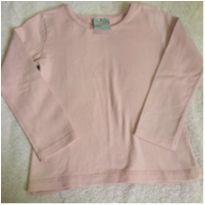 Blusa Rosa Basic Poim - 2 anos - Poim
