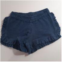 Shorts Azul Marinho Marisol - 18 a 24 meses - Marisol