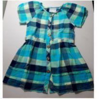 Vestido Xadrez - 18 a 24 meses - Marisol