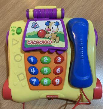 Telefone fisher price - Sem faixa etaria - Fisher Price