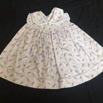 Vestido lilás - M - 6 meses - Costureira