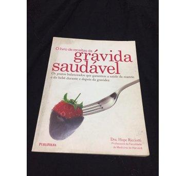Livro de Receitas da Grávida Saudável - Sem faixa etaria - Editora Publifolha