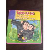 LIVRO AMIGOS DO ZOO: A HISTORIA DO MACAQUINHO CHIMPA - Sem faixa etaria - Todo Livro
