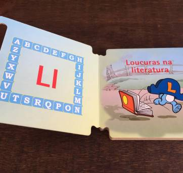Livro da Turma da Mônica - Loucuras na Literatura - Sem faixa etaria - TURMA DA MONICA
