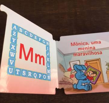 Livro da Turma da Mônica - Mônica, uma Menina Maravilhosa - Sem faixa etaria - TURMA DA MONICA