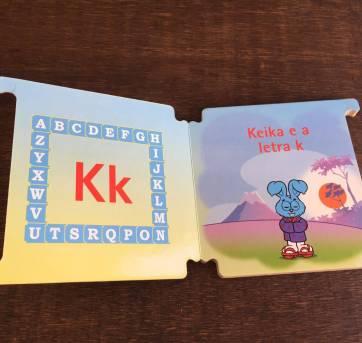 Livro da Turma da Mônica - keika e a letra K - Sem faixa etaria - TURMA DA MONICA