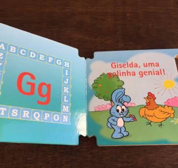 Livro da Turma da Mônica - Giselda, uma galinha genial! - Sem faixa etaria - TURMA DA MONICA