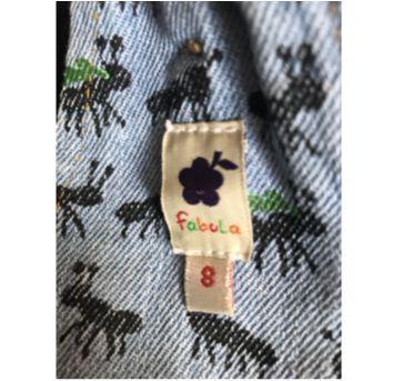 Jardineira jeans Fábula - 8 Anos - 8 anos - Fábula