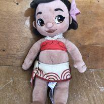 Boneca Moana Pelúcia - 33 cm -  - Disney