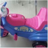 Motoca Calesita Max - Cor Rosa e Azul - Menina -  - Calesita