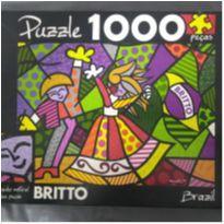 Quebra cabeça 1000 peças Romero Britto