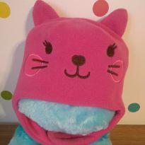 Touca gatinha pink - 18 a 24 meses - Não informada