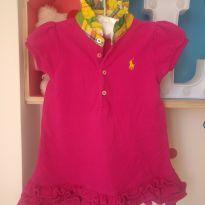 Vestido pink Rauph Lauren