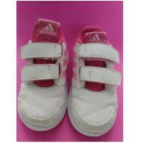 Tênis Adidas Branco e Rosa Altasport - 20 - Adidas
