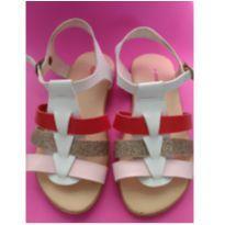 Sandália com tiras coloridas - 25 - marisa