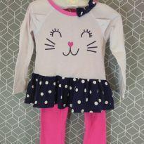 Pijama gatinha Gerber - 3 anos - Gerber