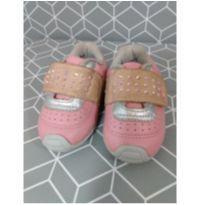 Tênis couro rosa Bibi - 18 - Bibi