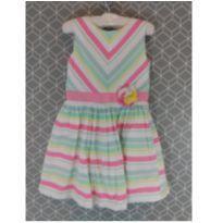 Vestido colorido Carter´s - 4 anos - Carter`s