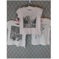 Conjunto de 3 camisetas Audrey Hepburn - 2 anos - Old Navy