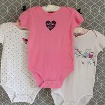 Kit 3 bodies Carter´s - 18 a 24 meses - Carter`s