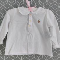 Camisa polo Manga longa Rauph Lauren - 9 a 12 meses - Ralph Lauren