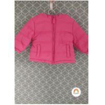 Jaqueta de nylon pink - 6 a 9 meses - Baby Club