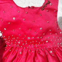 Vestido de festa animê um luxooo - 1 ano - Animê