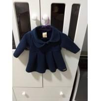 Vestido de frio - 0 a 3 meses - hrradinhos