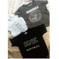 Trio camisetas Rock Tam 4 - 4 anos - Baby Gap