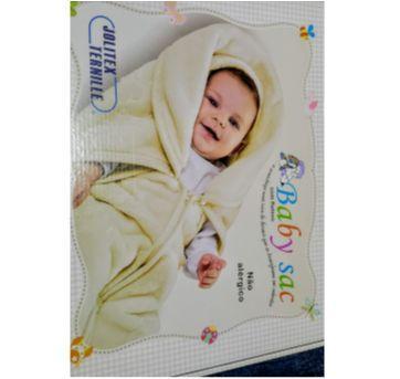 Baby SAC Rosa  2 x1 Ternille saco de dormir que vira cobertor - Sem faixa etaria - jolitex