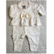 Macacão saída maternidade - Recém Nascido - Aconchego do Bebê