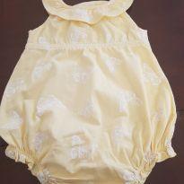 Macaquinho amarelo com borboletas delícia!!!! - 3 a 6 meses - Old Navy (USA)