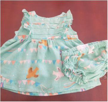 Vestido FÁBULA - 3 a 6 meses - Fábula