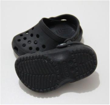 KIDS` CLASSIC CLOG - Crocs Preta - 13 - Crocs