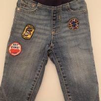 Calça jeans Tommy Hilfiger - 9 a 12 meses - Tommy Hilfiger