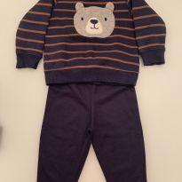 Conjunto Carters Urso - 9 a 12 meses - Carters - Sem etiqueta