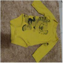 Body bebê menino - 6 a 9 meses - Tigor T.  Tigre