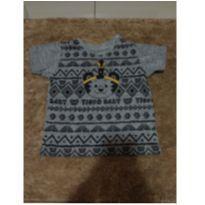 Camiseta bebê - 6 a 9 meses - Tigor T.  Tigre