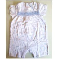 Macacão curto verão Tex baby - 9 meses - Tex Baby