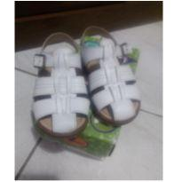 Sandália branca - 26 - Ortopasso