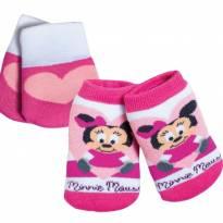 Kit Inverno Cute Minnie Baby - Mãos e pés aquecidos. - 6 a 9 meses - Leke